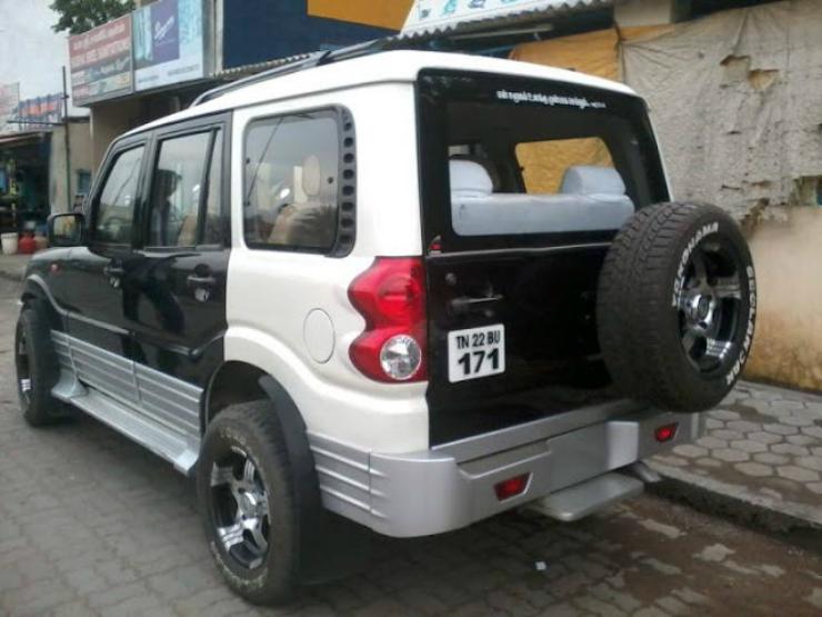 Scorpio rear