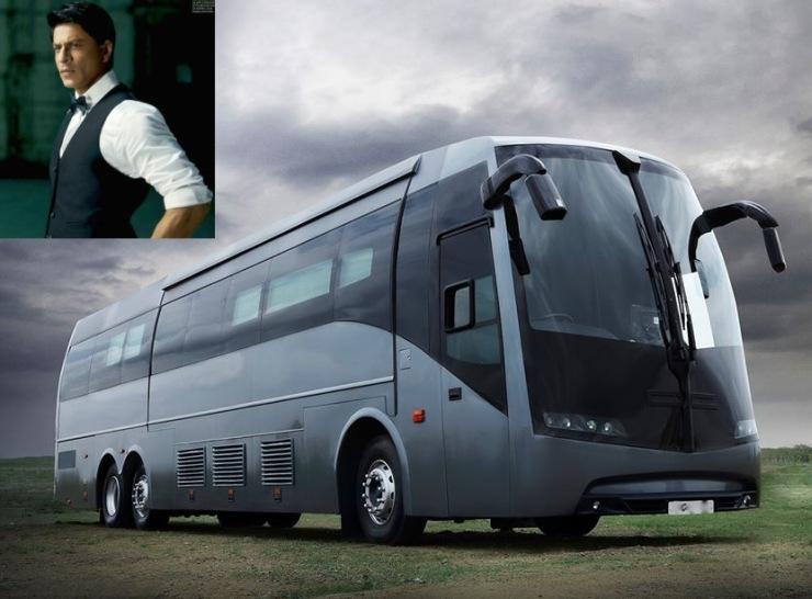 Shahrukh Vanity Van