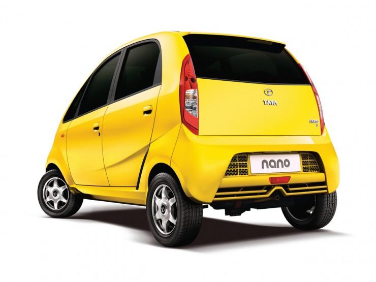Tata Nano rear