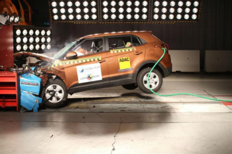Hyundai Creta gets a 4-Star Latin NCAP Safety Rating