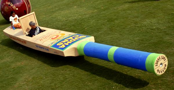 Cricket Bat Car