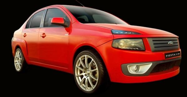 DC Design Ford Fiesta 1