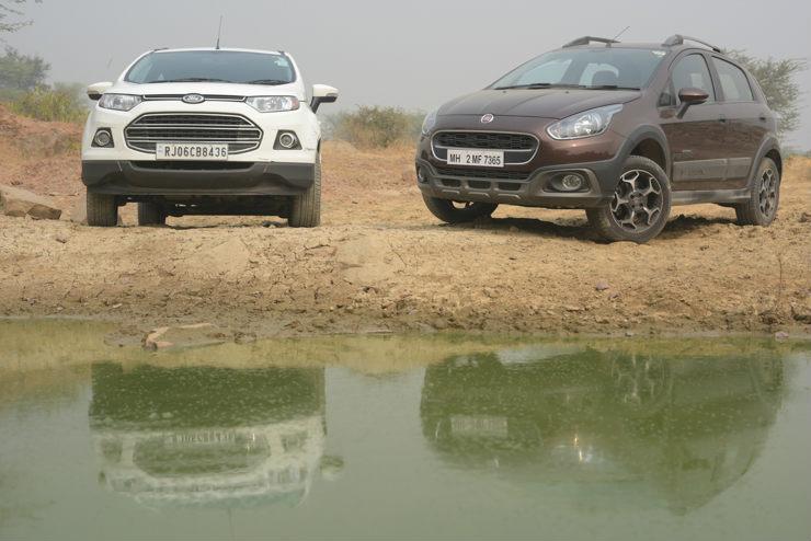 Turbo Petrol Crossovers: Fiat Avventura Powered by Abarth vs Ford EcoSport EcoBoost