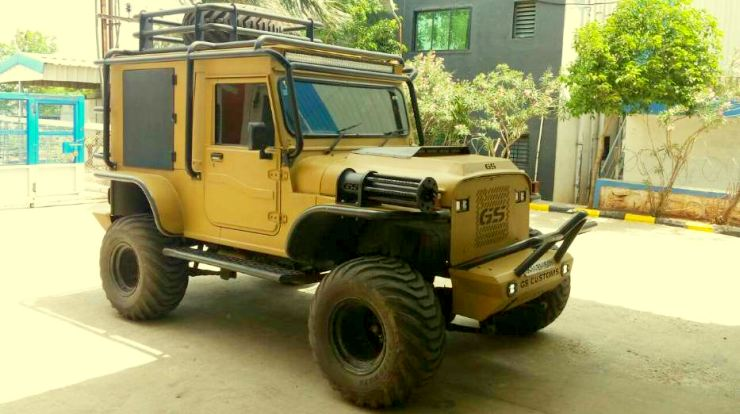 GS Customs' Mahindra Thar 3