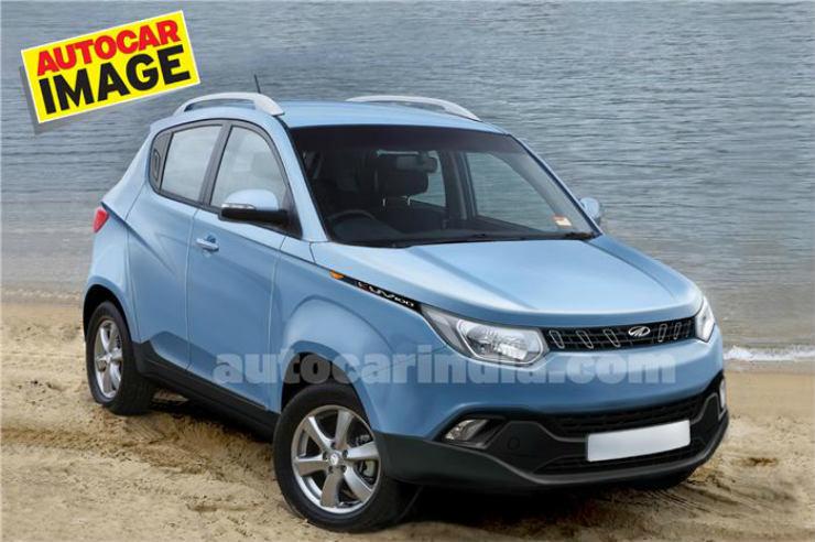 Mahindra's upcoming crossover S101 to be called KUV100