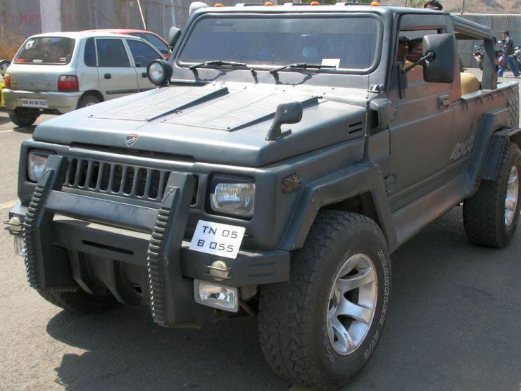Maruti Gypsy Hummer 2