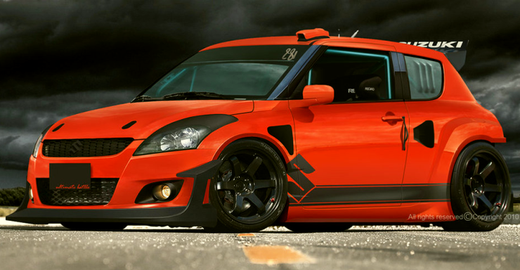 Five cars that look better with a body kit