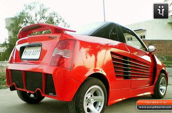 modification car