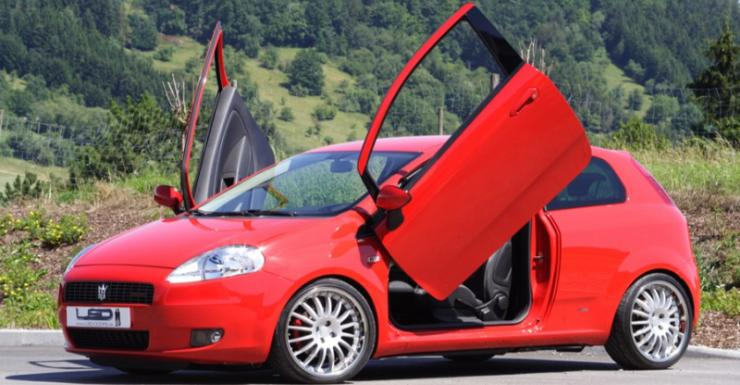 Fiat Punto Scissor Doors