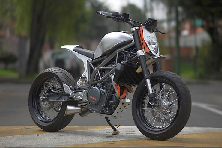 Ktm Duke 200 Rc390 Motorcycle Modification Ideas From
