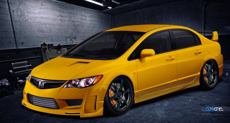 Honda Civic Low Rider