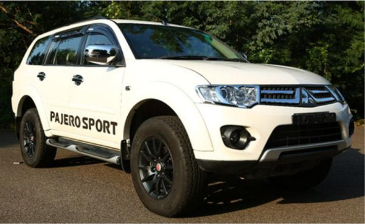 Mitsubishi Pajero Sport updated for 2016