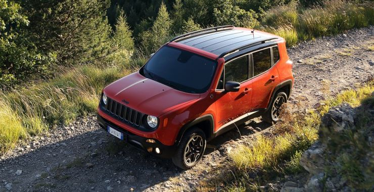 Jeep Renegade Caught On Test In Delhi