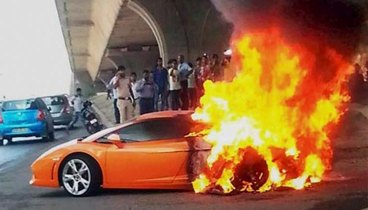 Why Do Lamborghinis Catch Fire We Explain