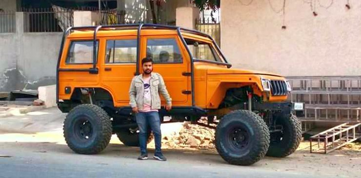 """""""Lifted"""" SUVs of India"""