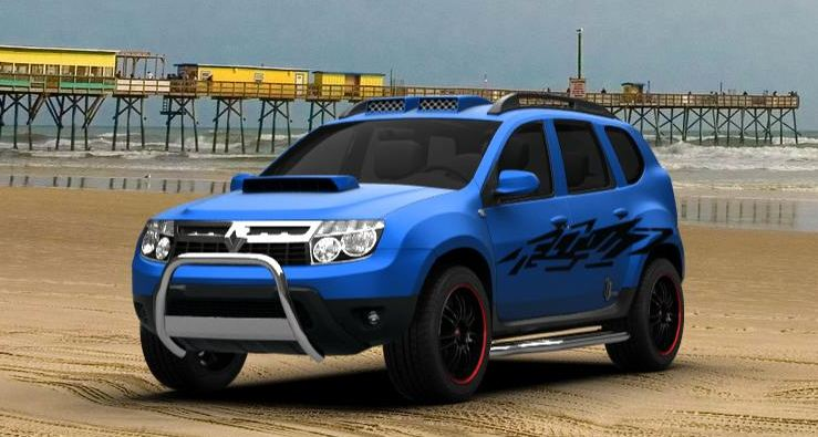 5 Beautifully Modified Renault Duster Suvs on On Roof Design Here S A Modified With