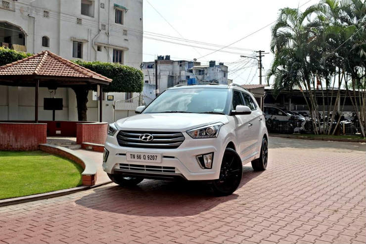 Hyundai Creta Modified front three quarter