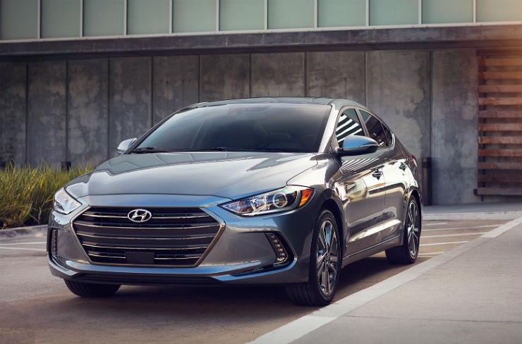 All New Hyundai Elantra front