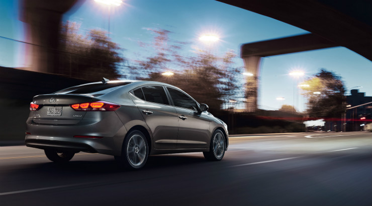 All new Hyundai Elantra rear