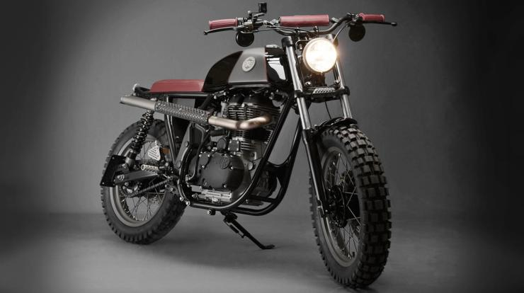 Analog Motorcycles' Royal Enfield Scrambler 4