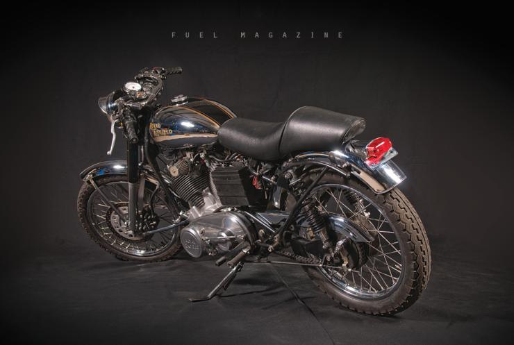 Carberry Enfield V-Twin Bullet 1