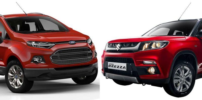 Ford EcoSport vs Maruti Vitara Brezza: What to expect