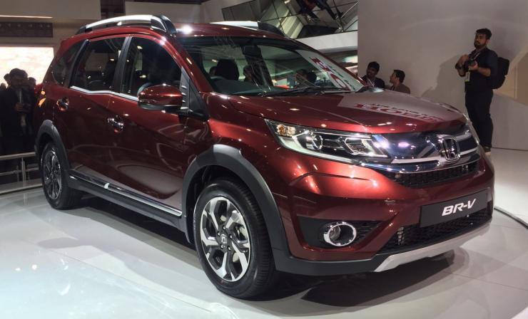 Honda unveils BR-V compact SUV and Accord luxury sedan