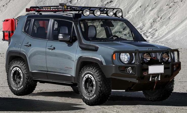 Jeep Renegade 1 For One It Has Proper Off Road Ability Through The Trailhawk Variant Now This Is Something Other Compact Suvs Sold In India Can T