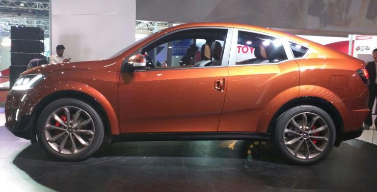 Mahindra Xuv500 Aero At The 2016 Auto Expo