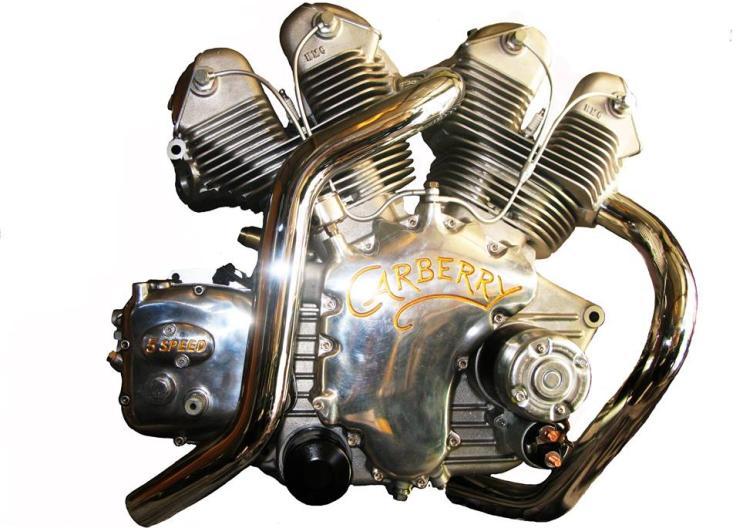 Paul Carberry's Custom Built 1000 cc V-Twin Engine