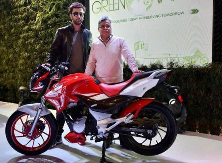 Ranbir Kapoor at the Auto Expo