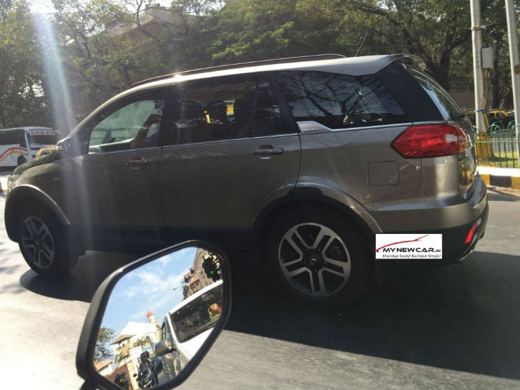 Tata Hexa Spotted Ahead of Launch