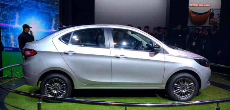 Tata Tiago-based Kite 5 compact sedan spotted again