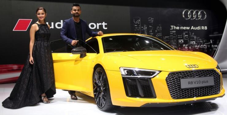 Celebrities At 2016 Auto Expo Sachin Tendulkar Ranbir: Celebrities At The Auto Expo, And The Cars And Bikes They
