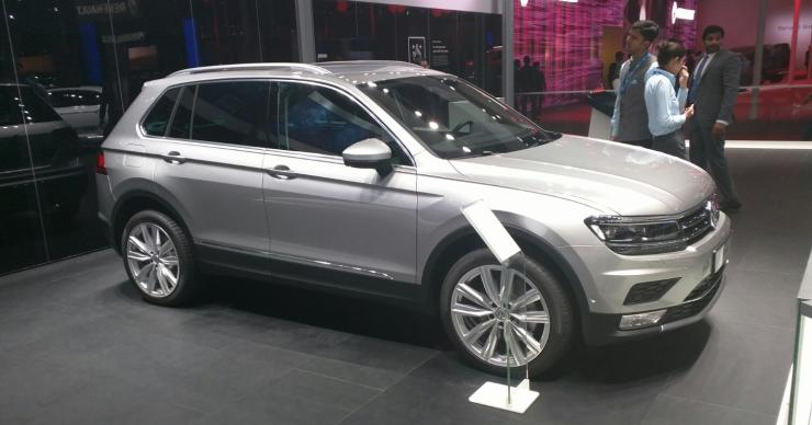 Volkswagen Tiguan unveiled