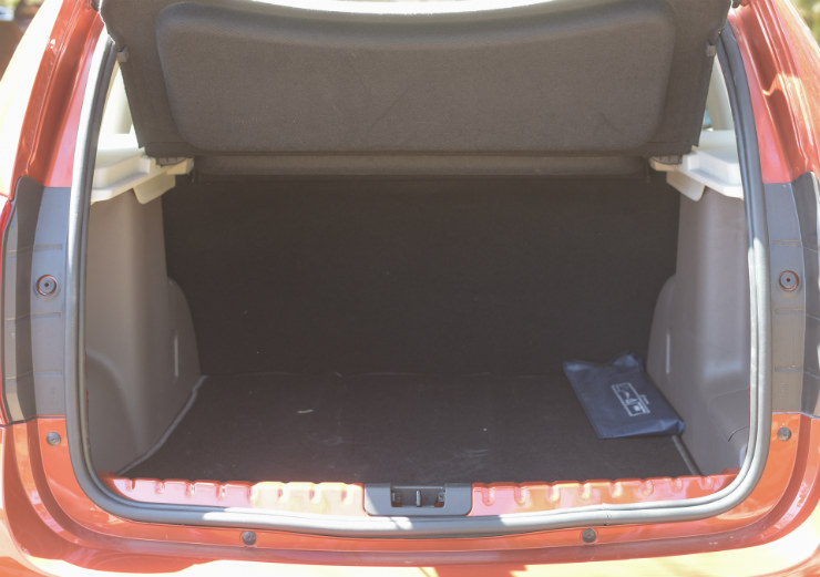 Renault Duster Facelift Boot Space