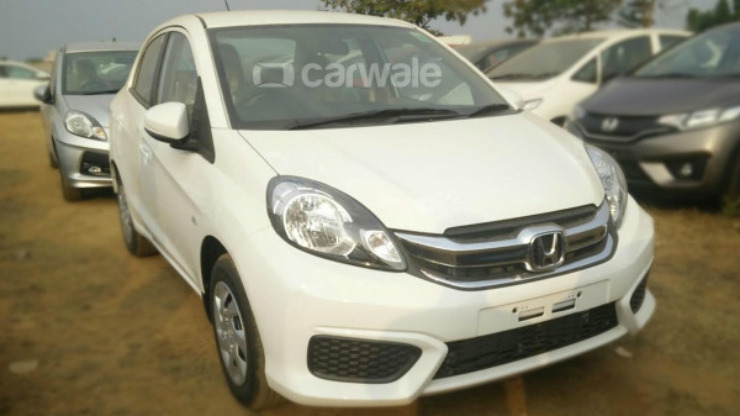 Honda Amaze Facelift front