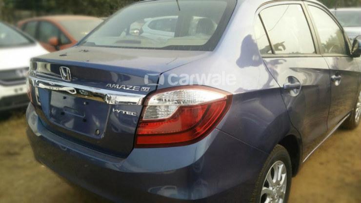 Honda Amaze Facelift rear