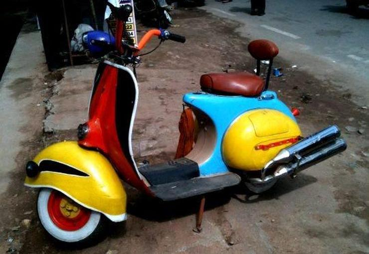 Modified Scooter