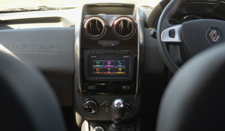 Renault Duster Facelift Centre Console Interior