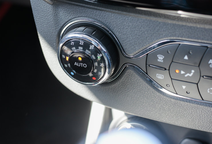 Renault Duster Facelift Climate Control