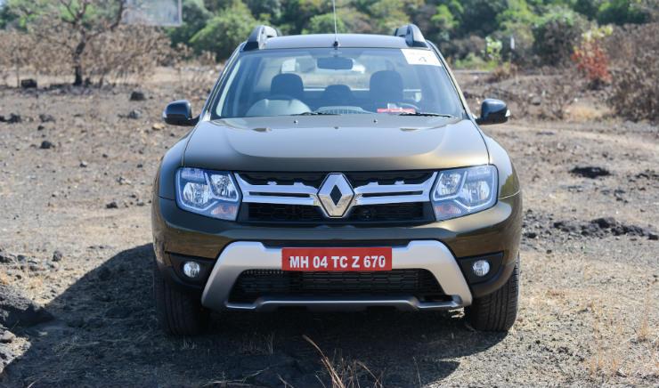 Renault Duster Facelift Front