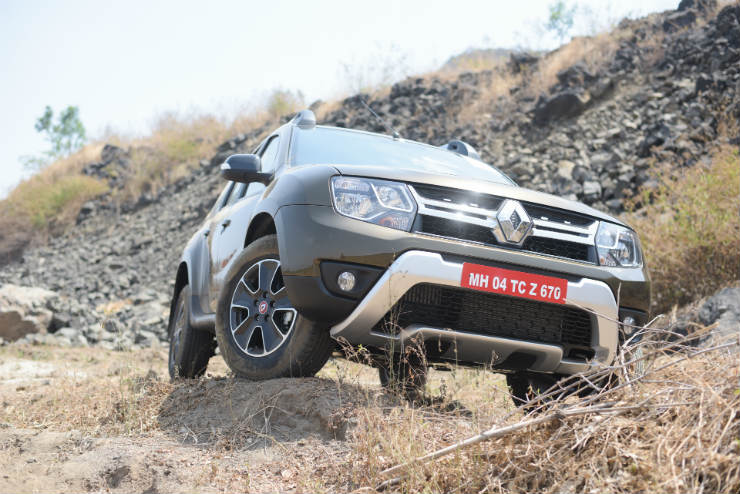 Renault Duster Facelift Off Road