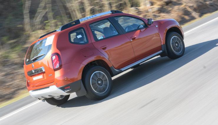 Renault Duster Facelift Rear Three Quarter