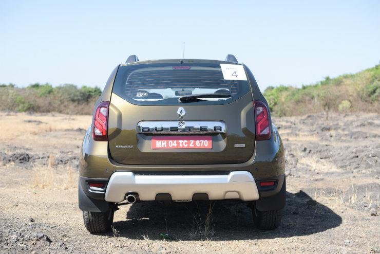 Renault Duster Facelift Rear