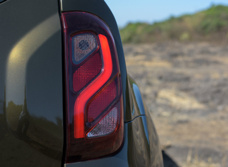 Renault Duster Facelift Tail Lamps
