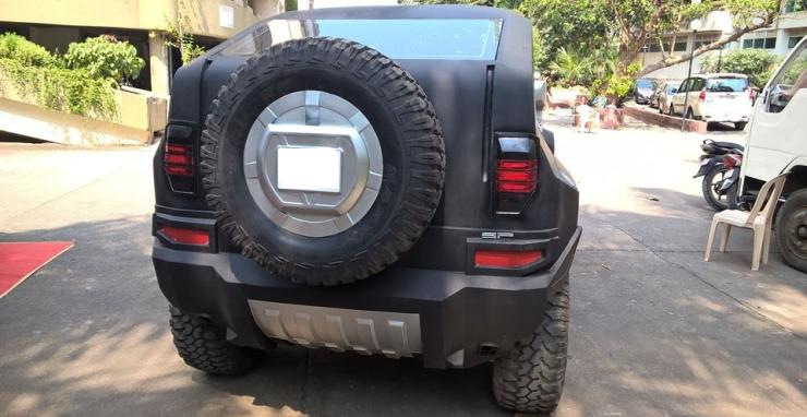 Meet The Mahindra Thar That Wants To Be A Hummer