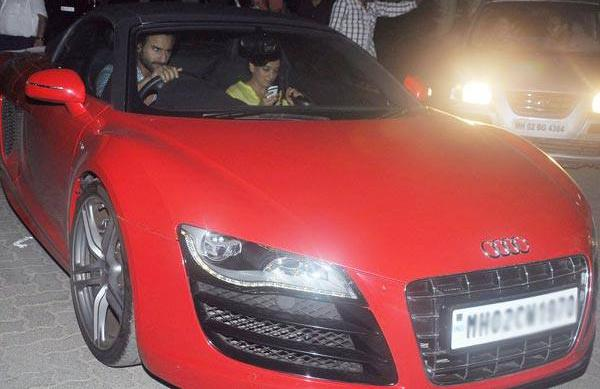 Sail Ali Khan in his Audi R8 Spyder