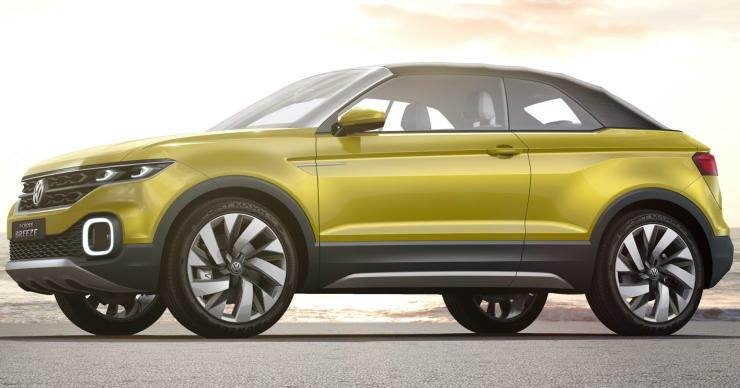 Volkswagen T-Cross is the Polo-based compact SUV; To rival the Ecosport/Duster