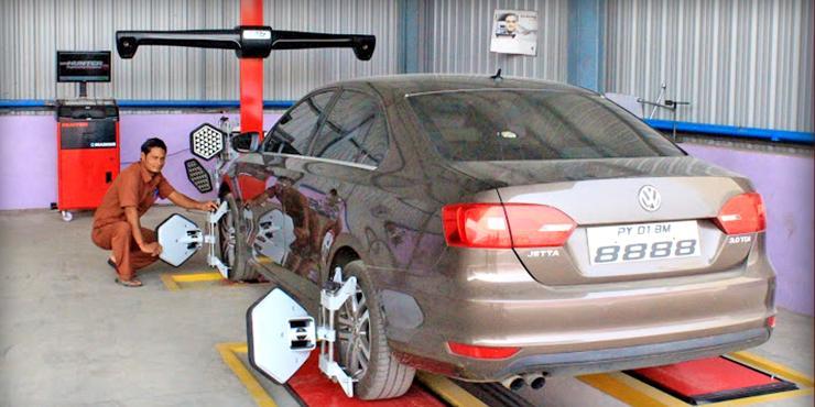 Wheel Alignment and Balancing